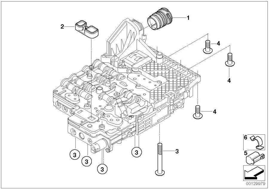 bmw 760li adapter  alpina  transmission