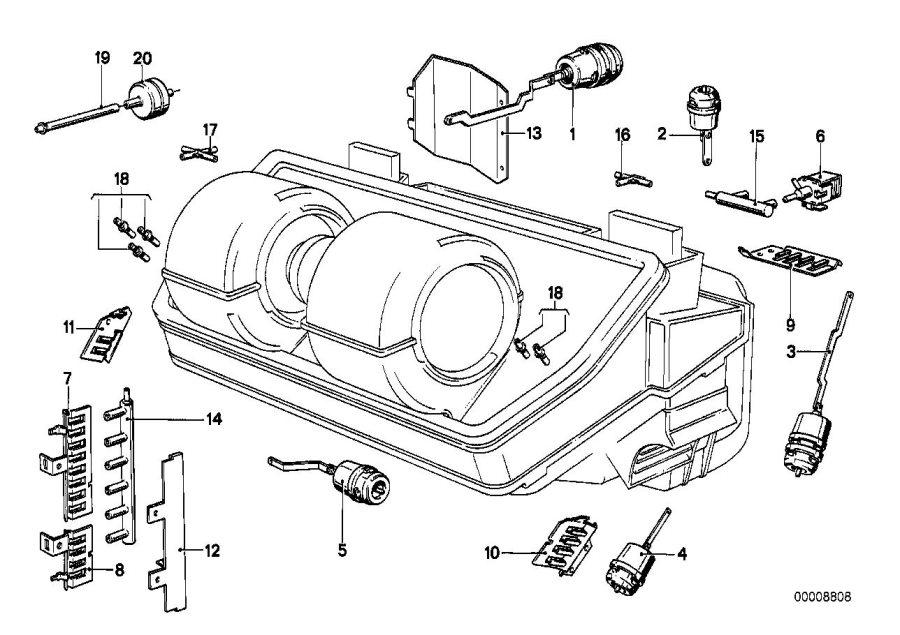 bmw e23 vacuum diagram  bmw  auto wiring diagram