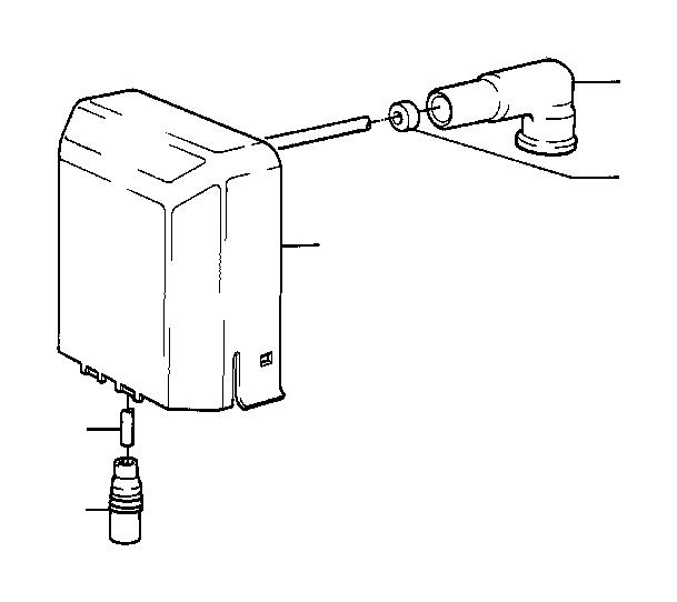 bmw 325e protection cap  sparkplug