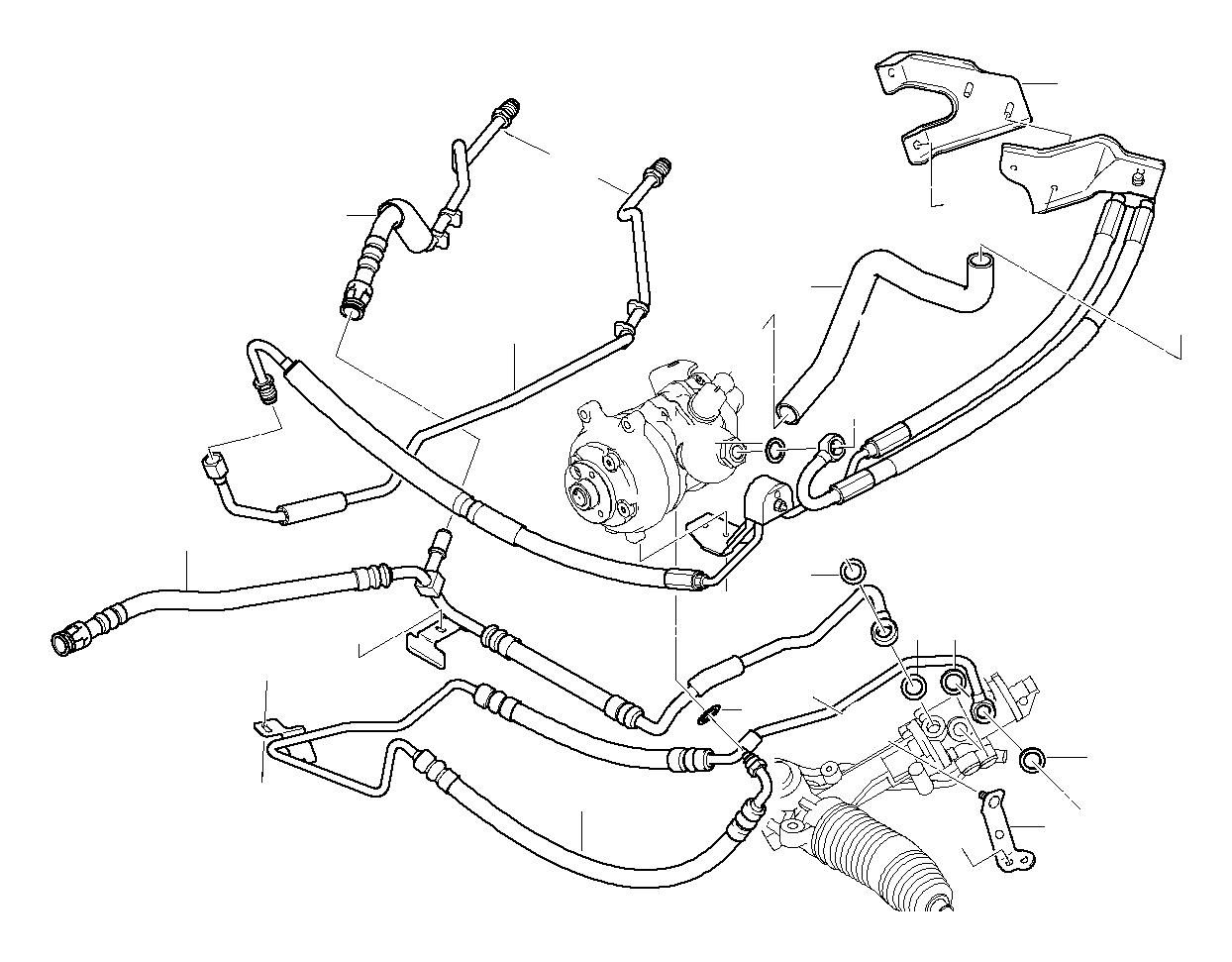 e60 bmw radiator diagram