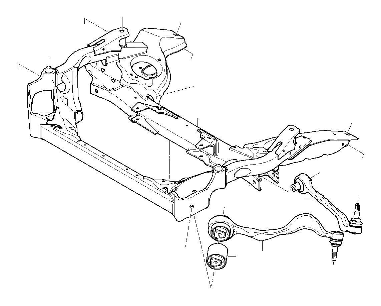 31116785639 furthermore Bmw F 22 Suspension Diagram besides T16057 Bmw E38 Refection Des Trains Av Et Ar moreover Idle Sensor Location besides Cooling System Water Hoses. on bmw e90 front suspension diagram