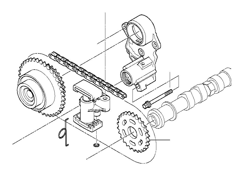 bmw 740ilp torx bolt  m6x20  alpina  engine  timing
