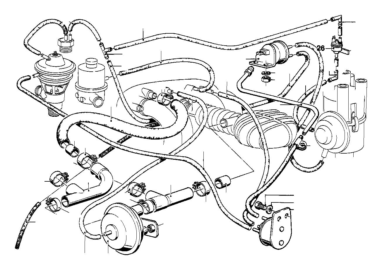 bmw 524td fuel hose  exp